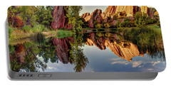 Red Rocks Reflection Portable Battery Charger