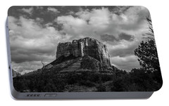 Red Rocks Sedona Bnw 1 Portable Battery Charger by David Haskett