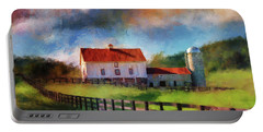 Red Roof Barn Portable Battery Charger
