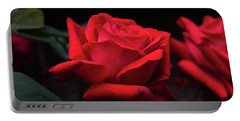 Portable Battery Charger featuring the photograph Red Rose 014 by George Bostian
