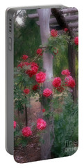 Red Rose Dream Portable Battery Charger