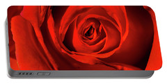Red Rose Portable Battery Charger