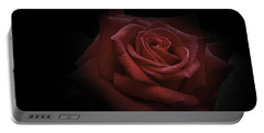 Portable Battery Charger featuring the photograph Red Rose by Ryan Photography