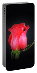 Red Rose Shows Love  Portable Battery Charger