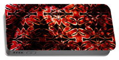 Red Salamander Pattern Portable Battery Charger