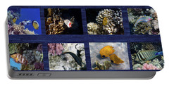 Red Sea Sealife Collage Portable Battery Charger