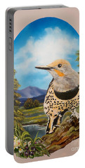 Flying Lamb Productions                       Red Shafted Flicker Portable Battery Charger