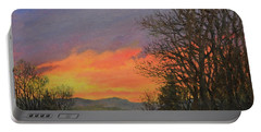 Red Sky At Night Portable Battery Charger