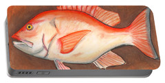 Red Snapper Portable Battery Charger
