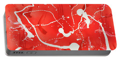 Red Spill Portable Battery Charger