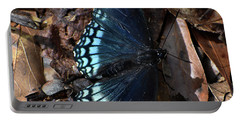 Portable Battery Charger featuring the photograph Red Spotted Purple Admiral by Skip Willits