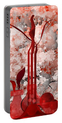 Red Stain Still Life Portable Battery Charger