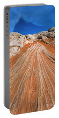 Portable Battery Charger featuring the photograph Red Stone Highway by Mike Dawson