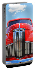 Red Studebaker Portable Battery Charger