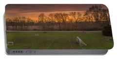 Red Sunset Portable Battery Charger