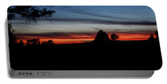 Red Sunset Strip Portable Battery Charger by Jason Coward
