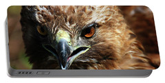 Portable Battery Charger featuring the photograph Red-tail Hawk Portrait by Anthony Jones