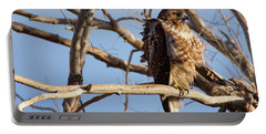 Red Tailed Portable Battery Charger
