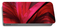 Red Ti Leaf Plant - Hawaii Portable Battery Charger