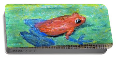 Red Tree Frog Portable Battery Charger