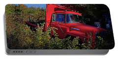 Red Truck Portable Battery Charger