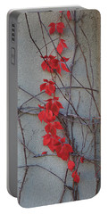 Portable Battery Charger featuring the photograph Red Vines by David Chandler