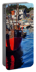 Portable Battery Charger featuring the photograph Red White Blue by Kendall McKernon