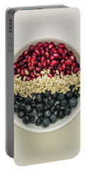 Red White Blue Power Breakfast Portable Battery Charger