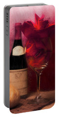 Red Wine Portable Battery Charger