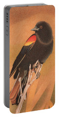 Red-winged Blackbird 3 Portable Battery Charger
