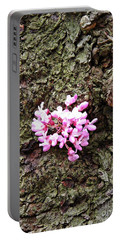 Redbud Flowers 1  Portable Battery Charger by Sarah Loft