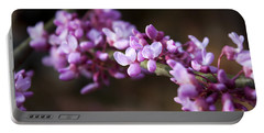 Portable Battery Charger featuring the photograph Redbuds In March by Jeff Severson