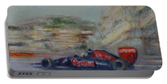 Redbull Racing Car Monaco  Portable Battery Charger