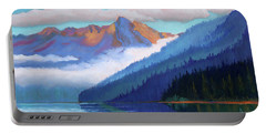 Redfish Lake - Low Clouds Portable Battery Charger