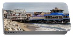 Redondo Beach Pier Shopping Portable Battery Charger