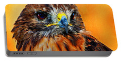 Redtailed Hawk Portable Battery Charger