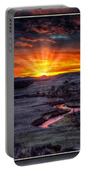 Redwater River Sunrise Portable Battery Charger