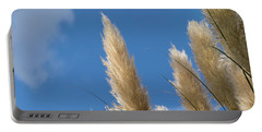 Reeds Against Sky Portable Battery Charger
