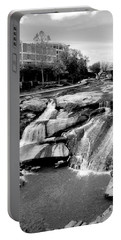 Portable Battery Charger featuring the photograph Reedy River by Corinne Rhode