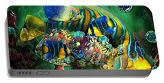 Reef Fish Fantasy Art Portable Battery Charger
