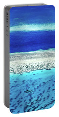 Portable Battery Charger featuring the photograph Reefs Edge by Az Jackson