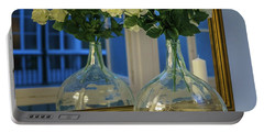 Portable Battery Charger featuring the photograph Reflected Demijohn Cadiz Spain by Pablo Avanzini