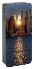 Reflected Sunset Portable Battery Charger