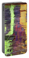 Reflecting Abstract Portable Battery Charger