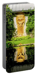 Portable Battery Charger featuring the photograph Reflecting Art by Greg Fortier