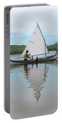 Reflecting On Sailing Portable Battery Charger
