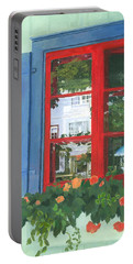 Reflecting Panes Portable Battery Charger by Lynne Reichhart