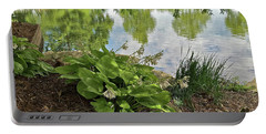 Reflecting Pond Portable Battery Charger