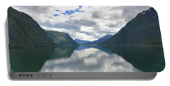 Reflecting Skjolden. Portable Battery Charger
