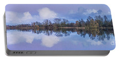 Reflection At Dusk Portable Battery Charger